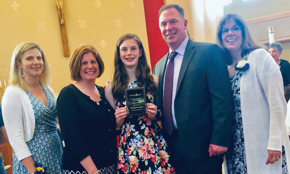 Nazareth Guild Awards Catholic School Eighth-graders with scholarships to Gonzaga Preparatory, DeSales High school and Tri-Cities Prep