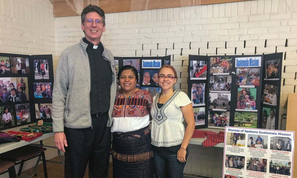 People of the Spokane Diocese welcome Lourdes Tzoc, radio station director