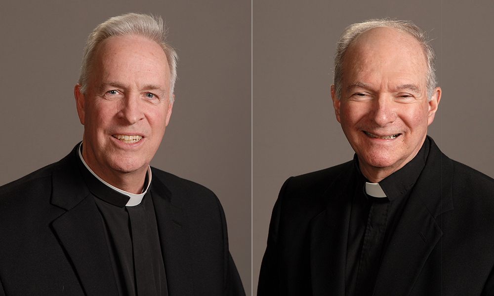 TWO SPOKANE PRIESTS GRANTED HONOR BY POPE FRANCIS