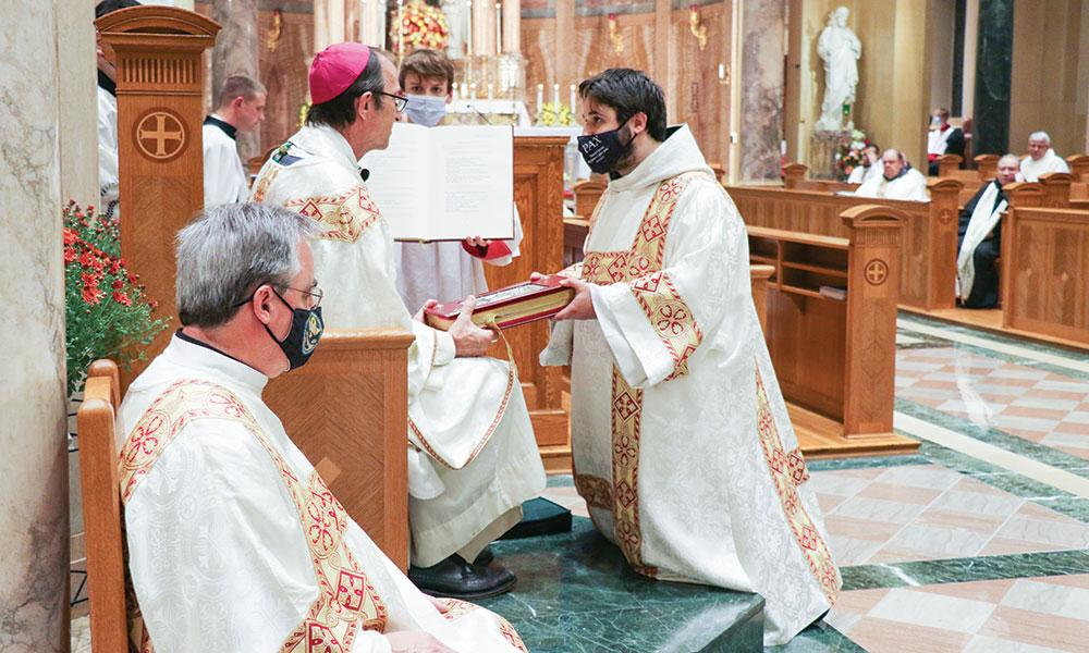 Franciscan Friar from Spokane Ordained a Deacon