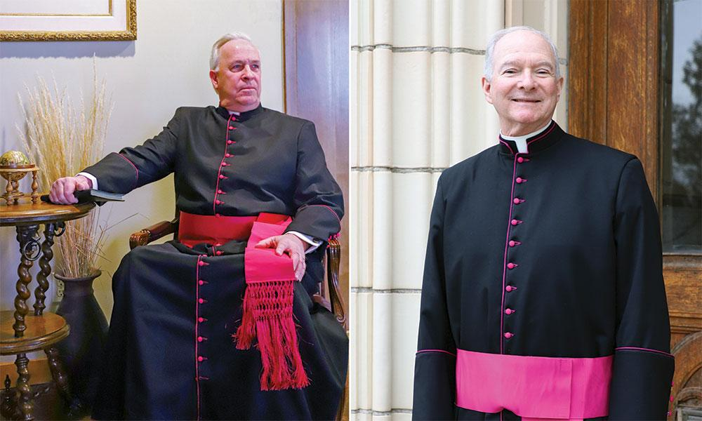 Two Priests of the Diocese Granted Honor by Pope Francis