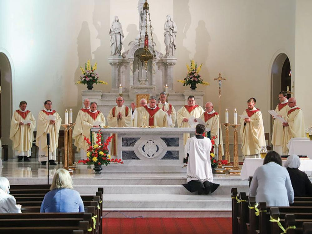 Annual Chrism Mass Celebrated in June